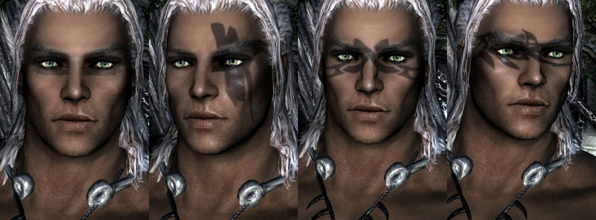 Male Tattoo Warpaint MAX Edition – MissAniThrope's Mods
